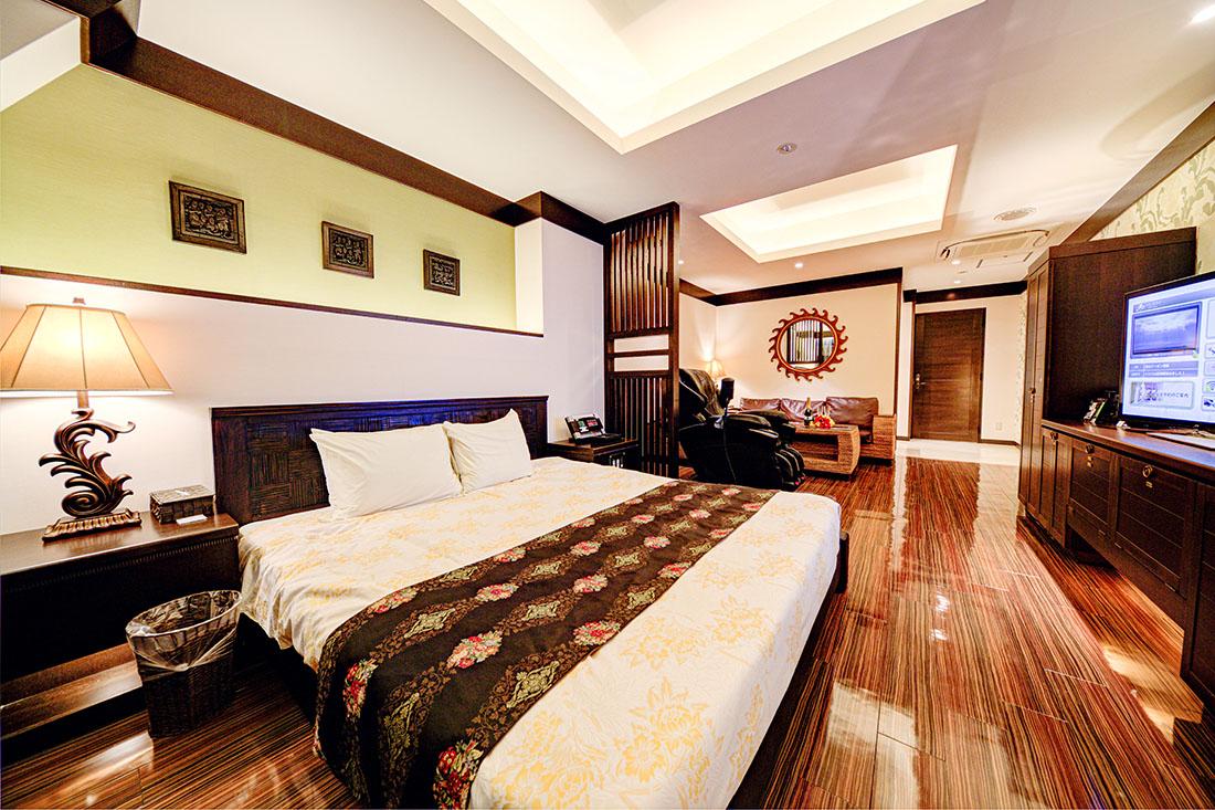 コンフォートルーム 307 寝室