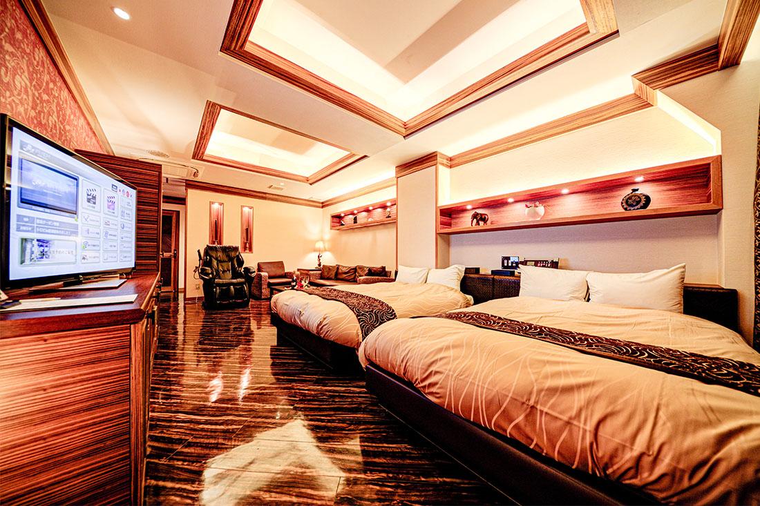 コンフォートルーム 308 寝室
