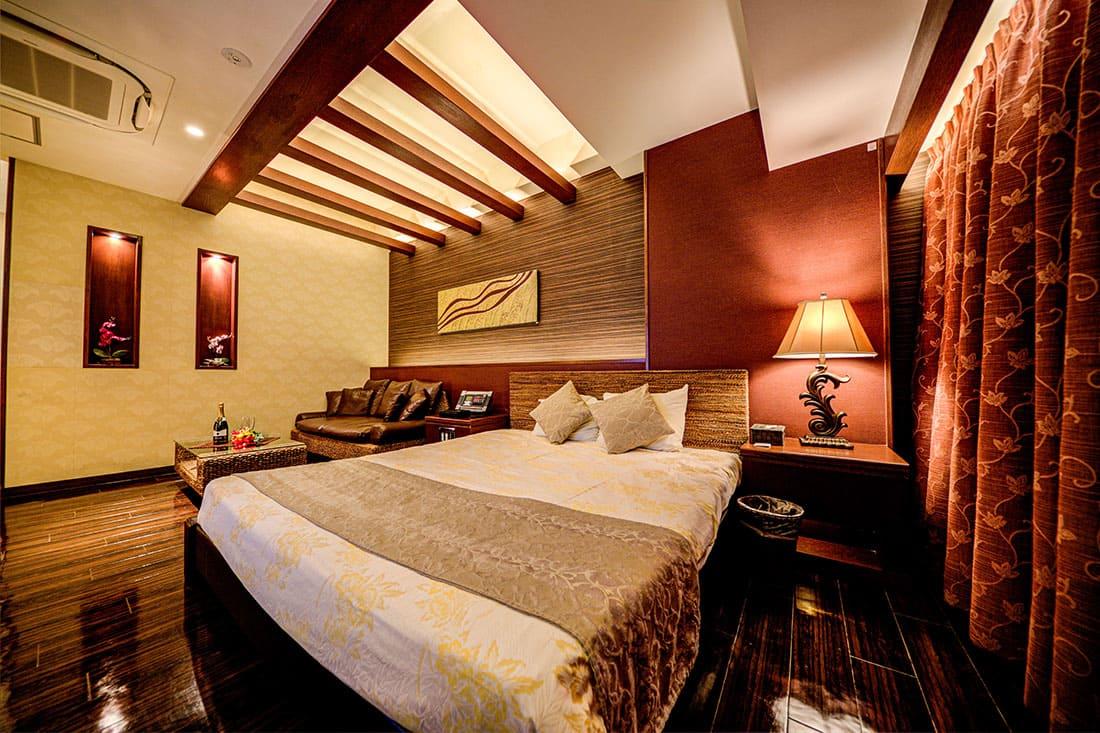 デラックスルーム 406寝室