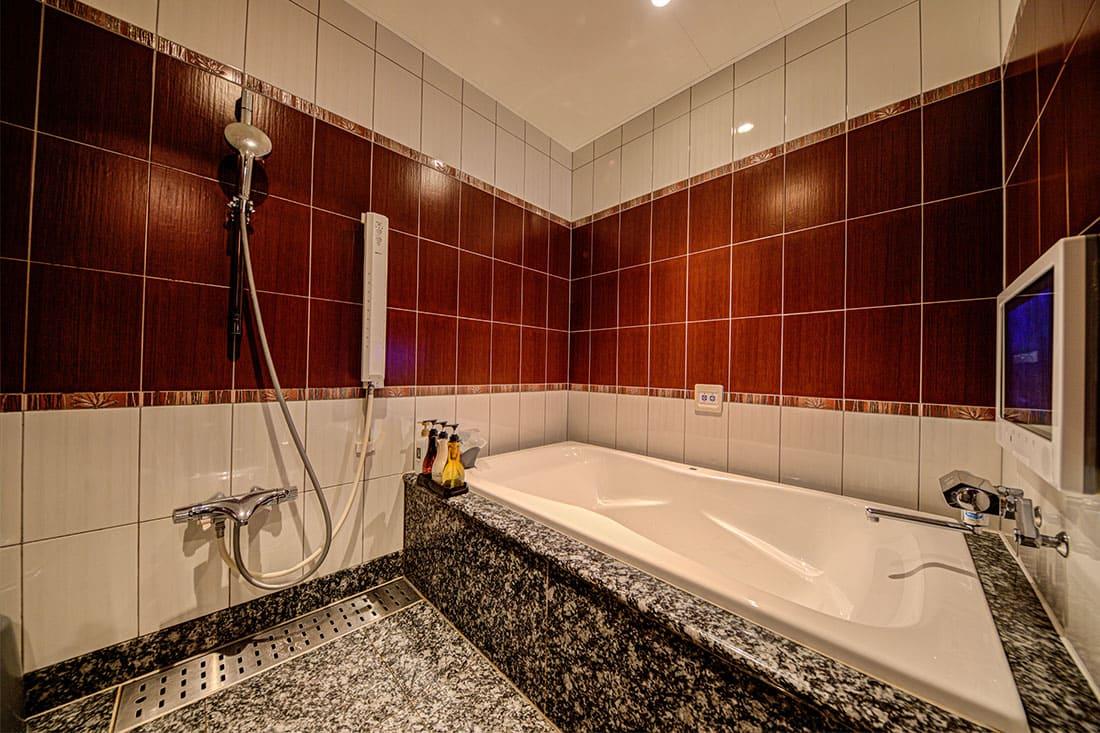 デラックスルーム 408 バスルーム