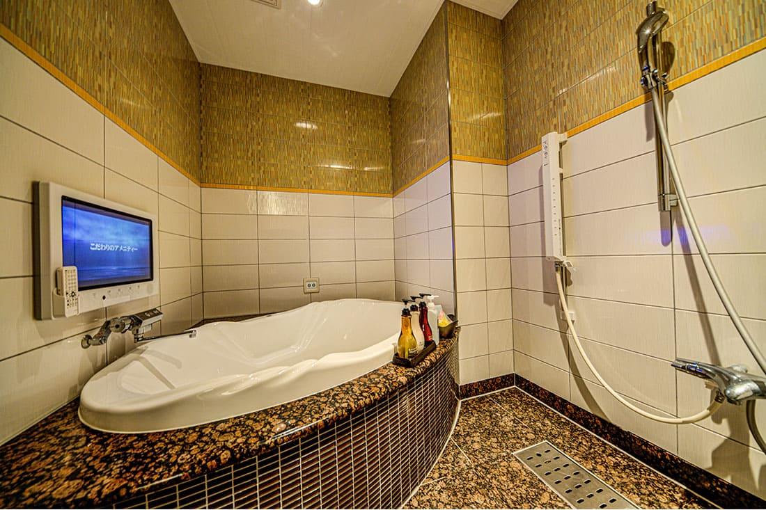 デラックスルーム 412 バスルーム