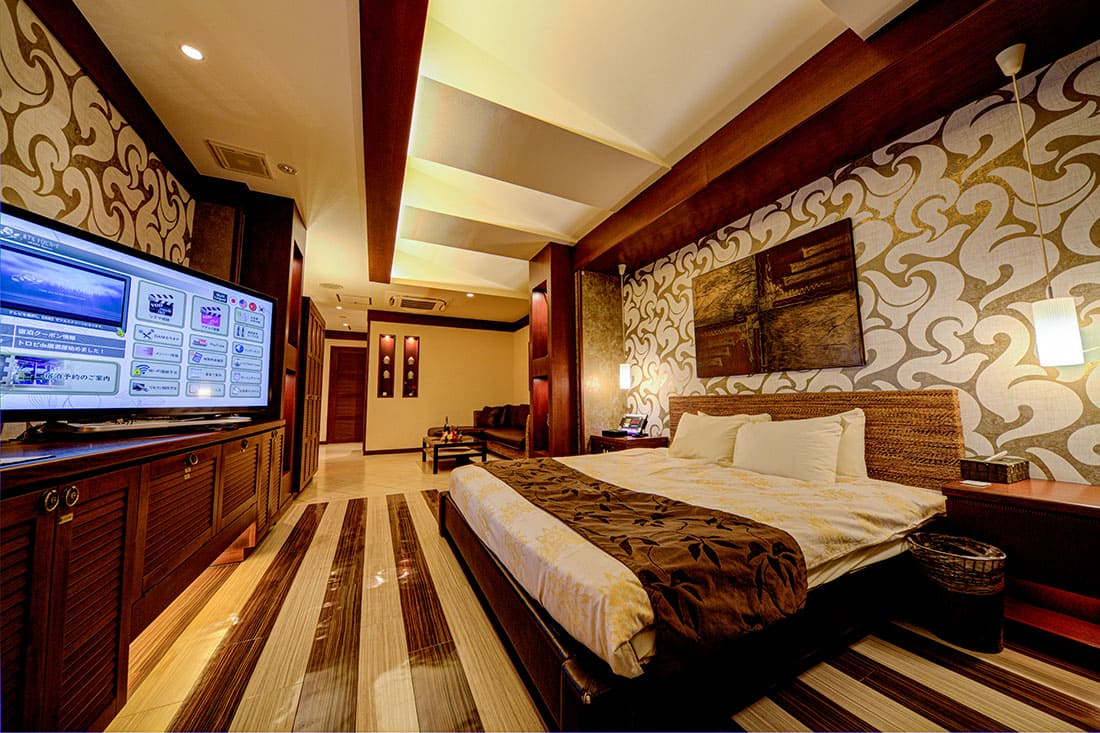 ハイフロアルーム 212 寝室