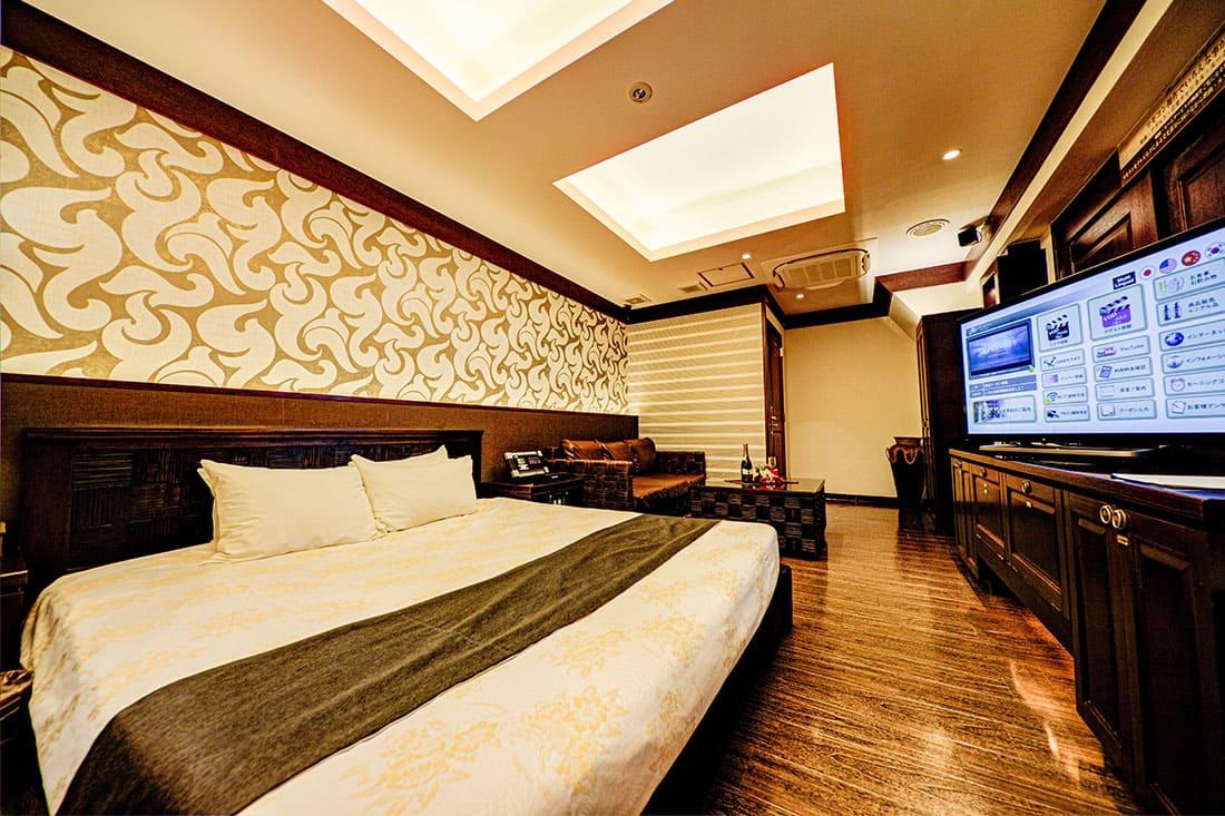 ハイフロアルーム 305 寝室