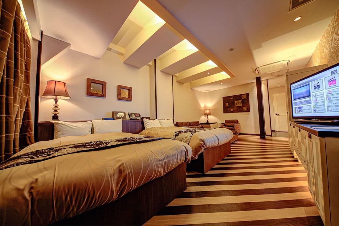 ハイフロアルーム 312 寝室