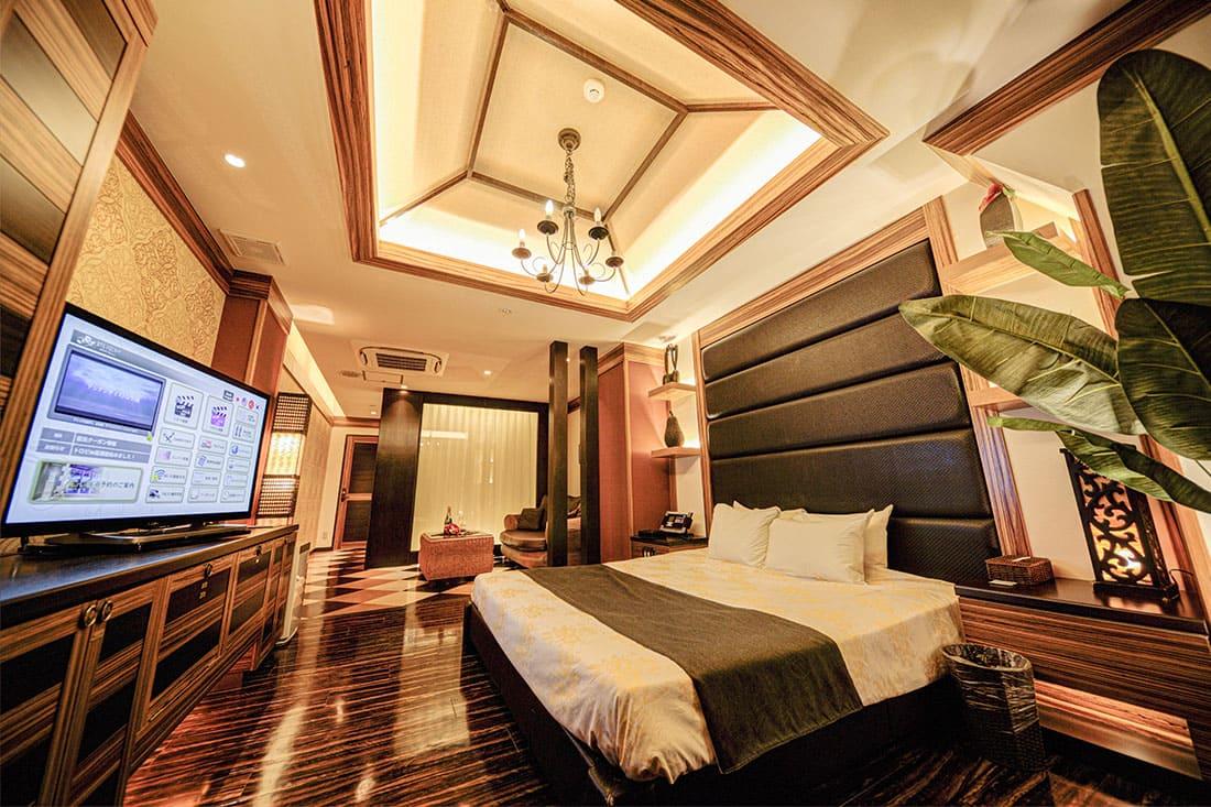ハイフロアルーム 315 寝室