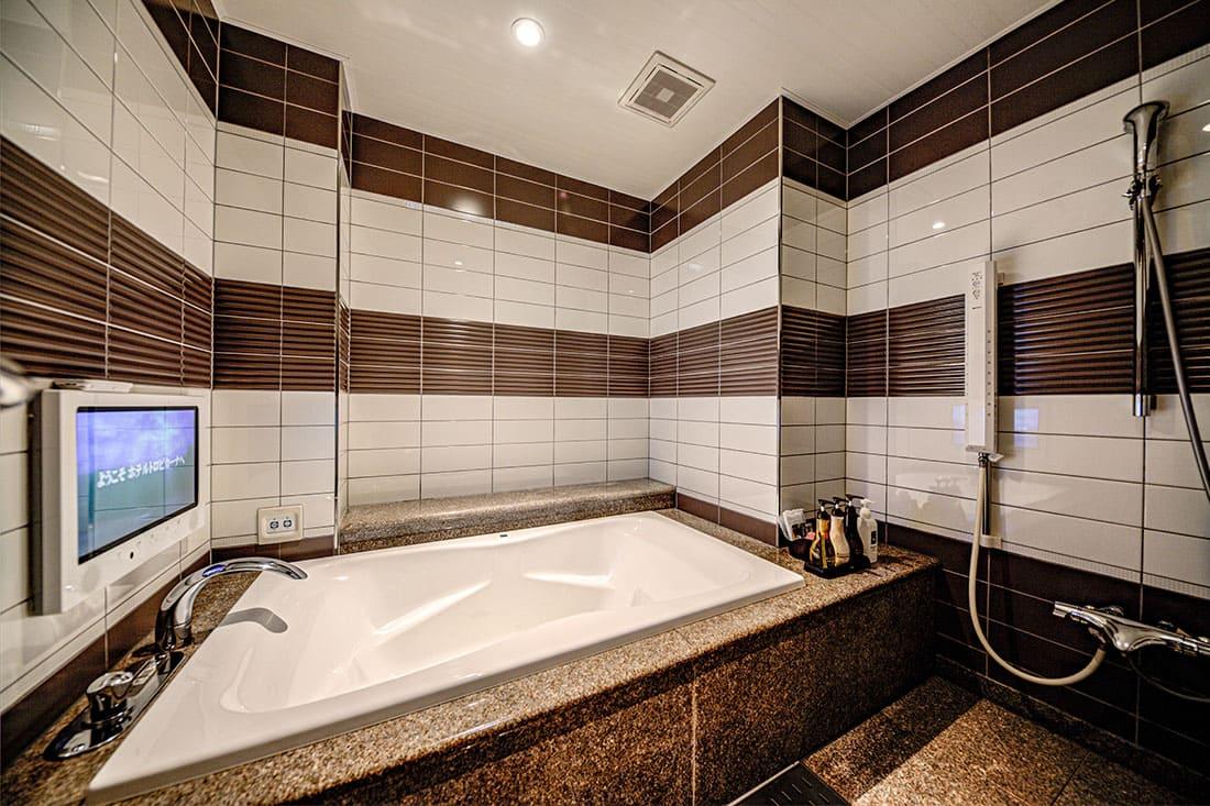 ハイフロアルーム 315 バスルーム