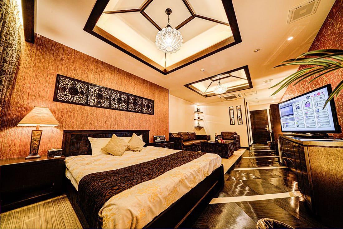 スーペリアルーム 205 寝室