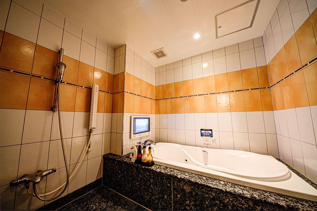 スーペリアルーム 205 バスルーム