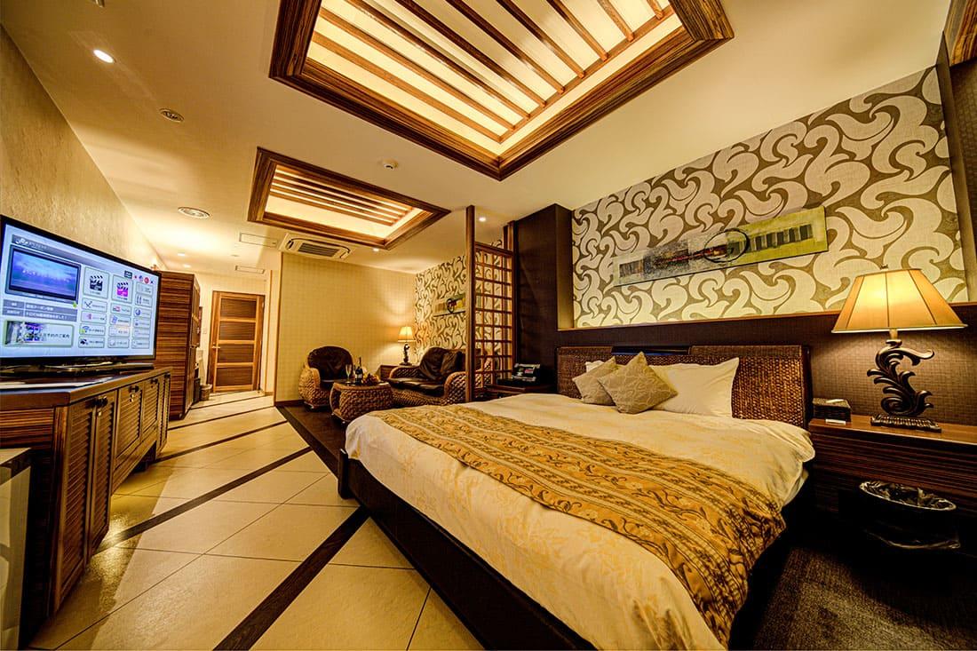 スーペリアルーム 206 寝室