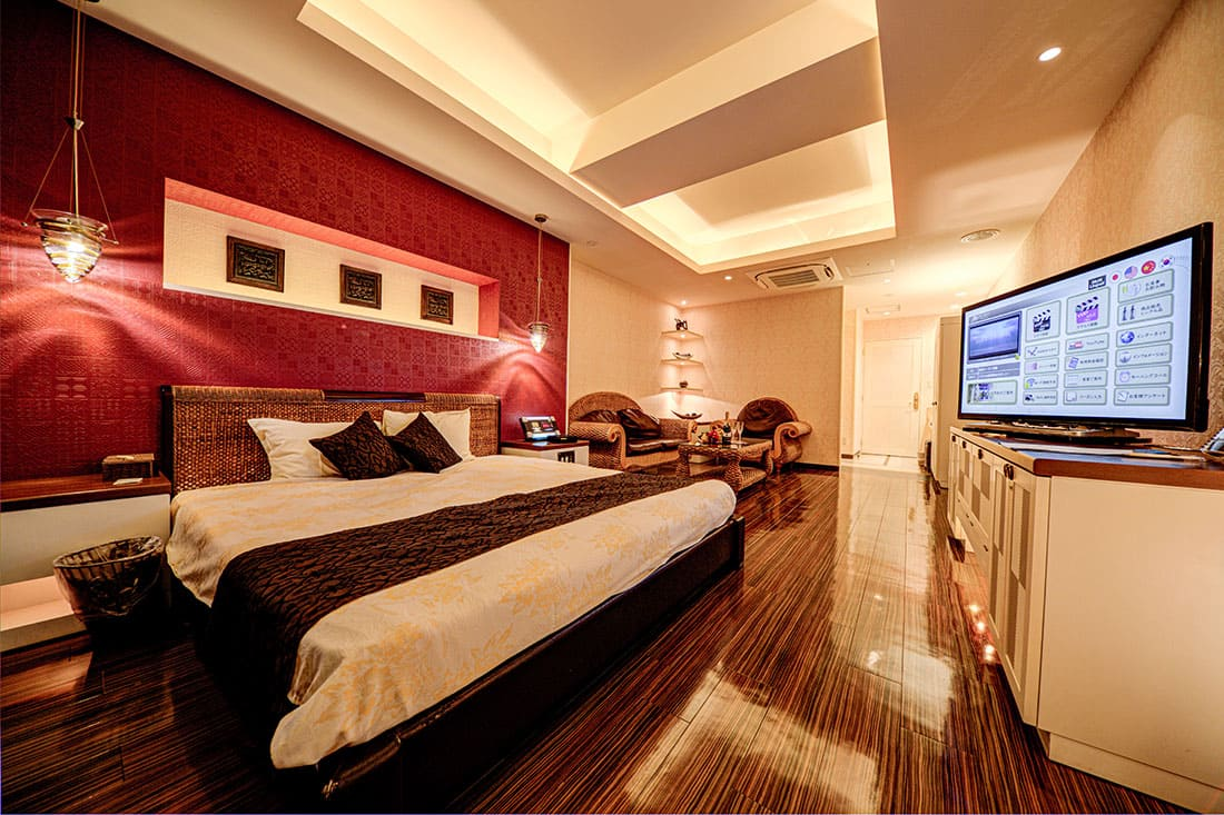 スーペリアルーム 207 寝室