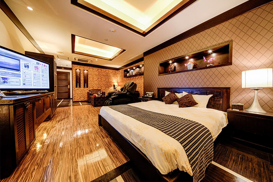 スーペリアルーム 208 寝室