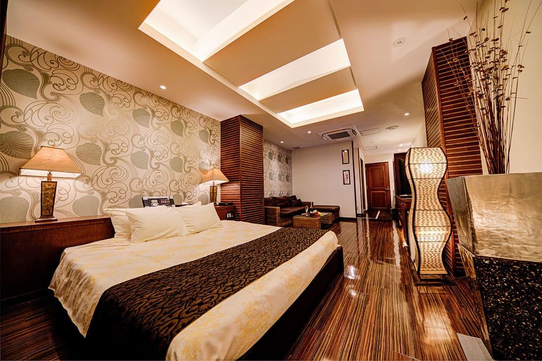 スーペリアルーム 211 寝室