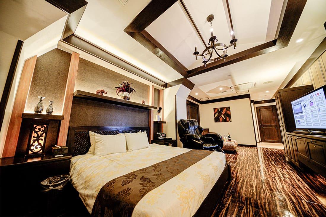 スーペリアルーム 303 寝室