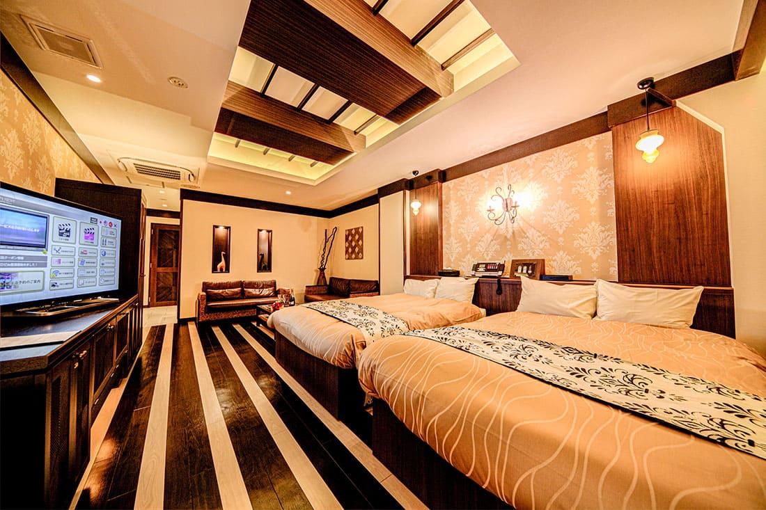 スーペリアルーム 316 寝室