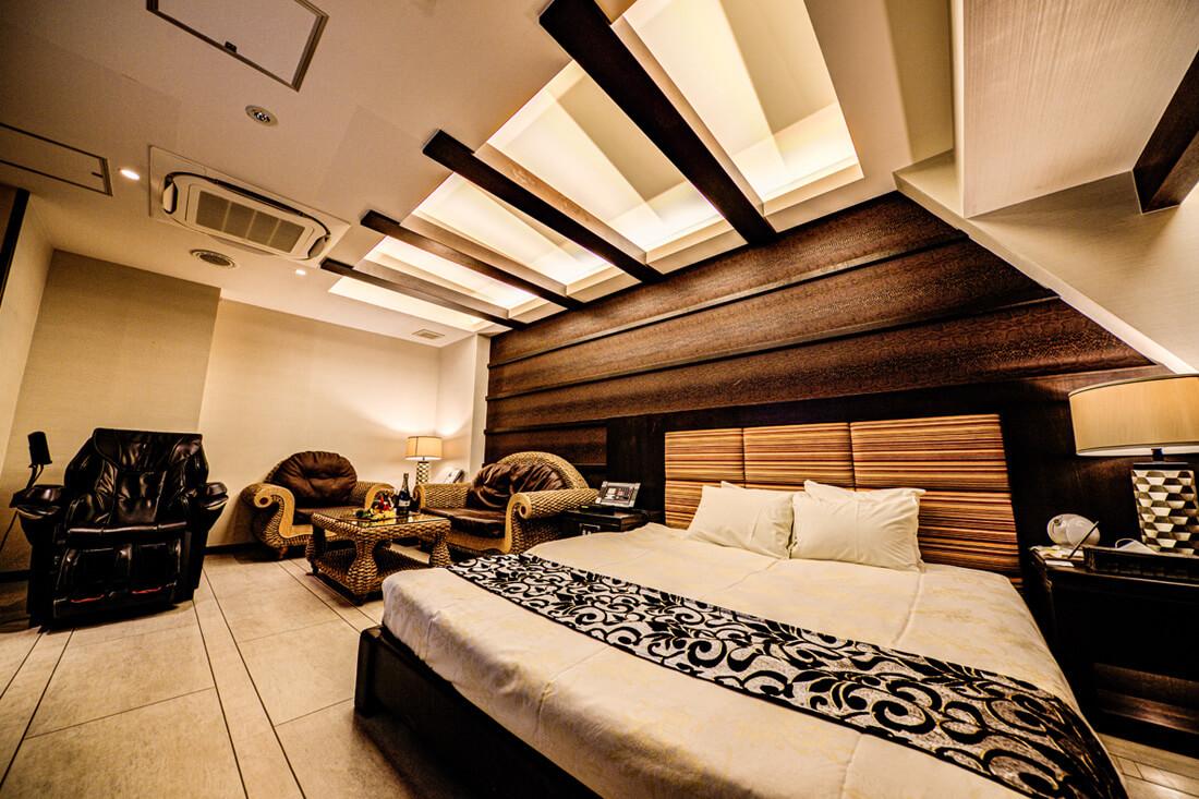 トロピカーナVIP 508 寝室
