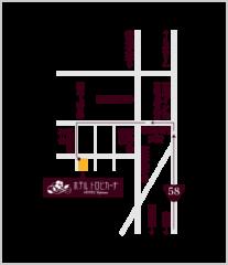 空港・小禄方面からのイラスト地図
