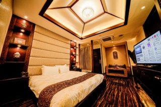 コーナールーム202 寝室