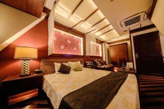 コーナールーム506 寝室