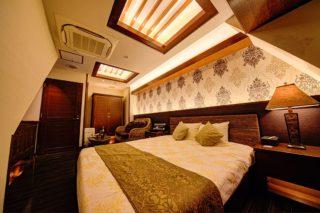 コーナールーム507 寝室